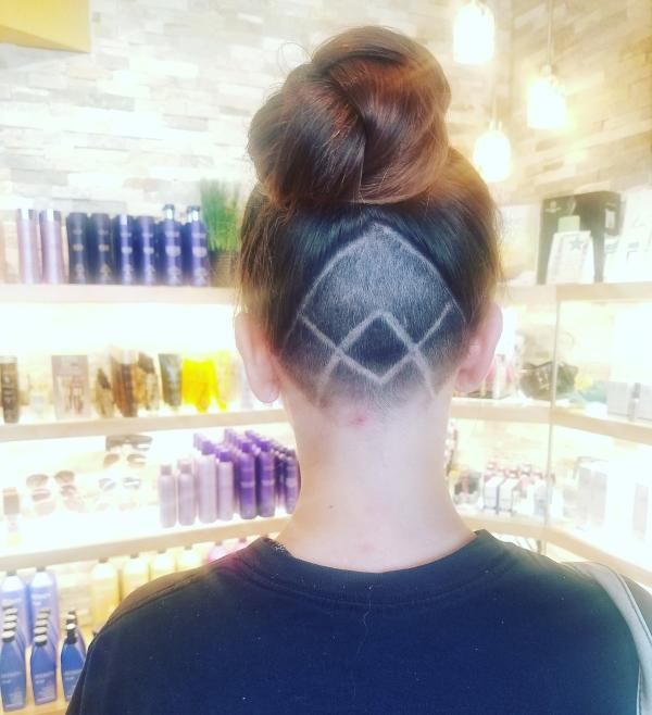 Shaved Hair Design Signature Salon Spa Waukesha Wisconsin